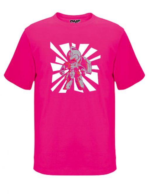 Hot pink cyber 426 unisex t-shirt
