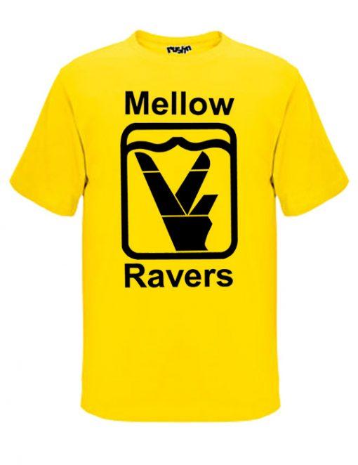 Old skool yellow mellow ravers t-shirt