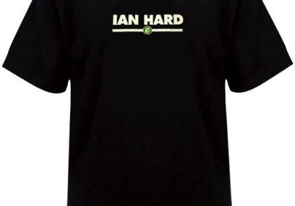 Old skool black mens Ian Hard t-shirt