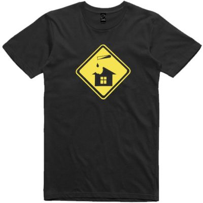 Unisex Black Acid House tshirt