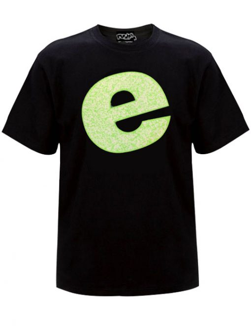 Big E Oldskool Mens Tshirt Black