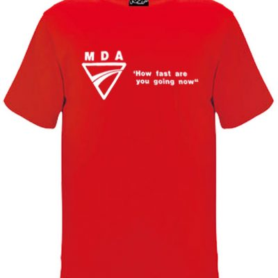 How Fast Oldskool Mens Tshirt Red