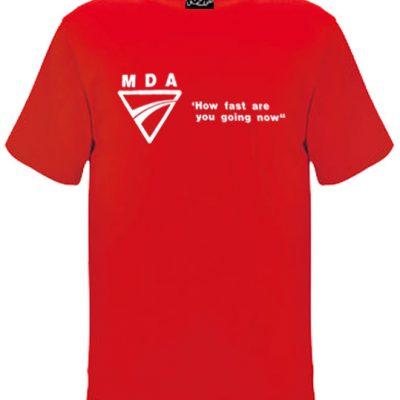 How Fast Oldskool Mens Tshirt Red