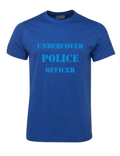 Undercover Oldskool Mens Tshirt Royal