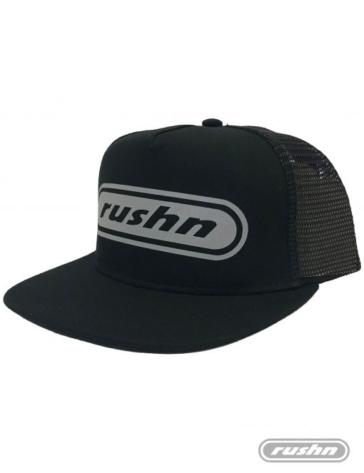 Rushn Trucker Mesh AS Snapback Black