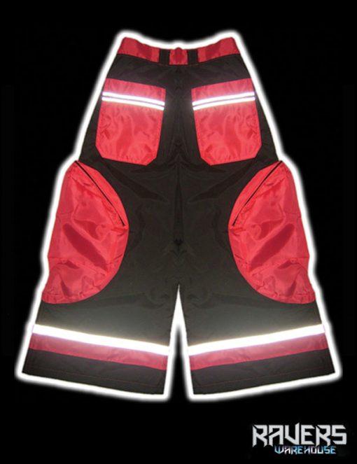 pants aero rushn black red back
