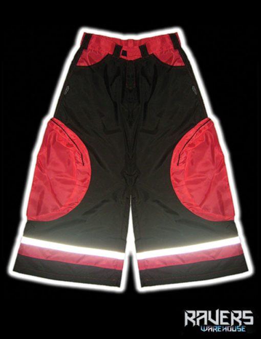 pants aero rushn black-red front