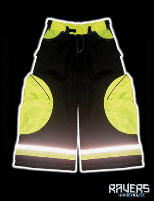 pants aero rushn black yell front