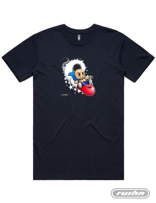 Pillrider-Unisex-Tshirt-Black