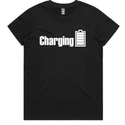 harging-womens-Tshirt-Black