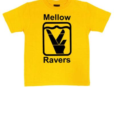 mellow-ravers-kids-tshirt-yellow