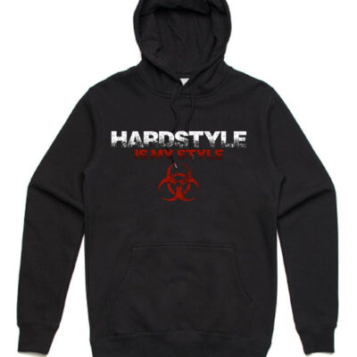 Hardstyle-is-my-style-unisex-hoodie-black